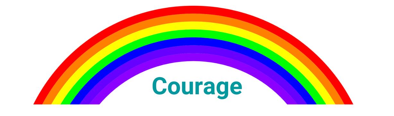Rainbow - Courage